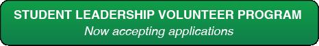Student Leadership Volunteer Program now accepting applications