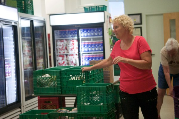 Food Insecurity is an issue for clients at the Bluffs Food Bank