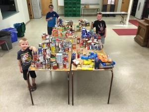 Victoria Day fireworks make a bang for food bank