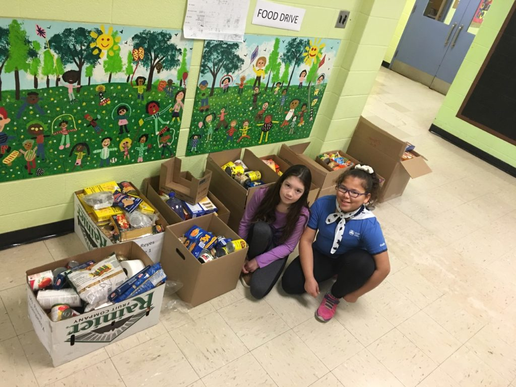 Victoria Village PS Food Drive