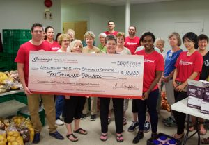 Scarborough Toyota donates $10,000 to The Bluffs Food Bank