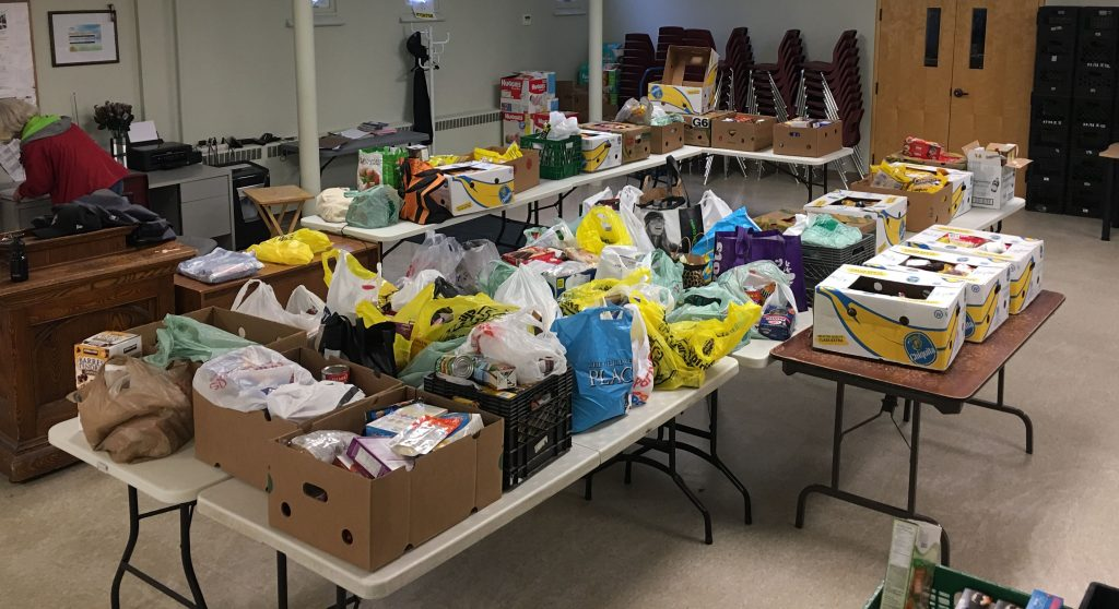 Birch Cliff Food donations